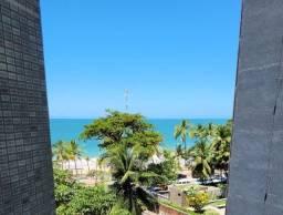 Título do anúncio: Flat mobiliado com vista para o mar em Boa Viagem - Rua Setúbal