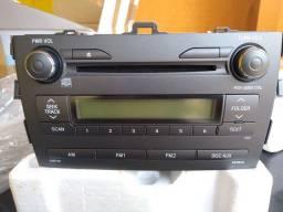 Rádio Corolla original nunca usado