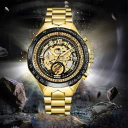 Relógio mecânico masculino