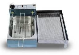 Título do anúncio: Fritadeira Elétrica 5 Litros com Escorredor Aramado