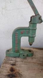 Máquina de pregar botao de pressão