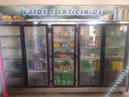 Freezer expositora 5 portas