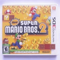 New Super Mario Bros 2 - semi-novo - 3ds