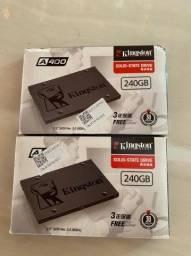SSD Kingston de 240 gigas novo