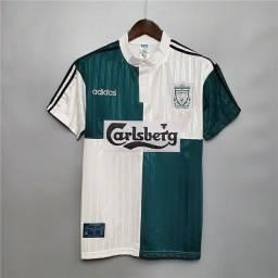 Camisa Retrô Liverpool 1995-96 Away