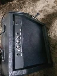 Título do anúncio: Amplificador para guitarra Hurricani 15w