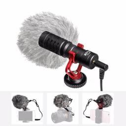 Microfone shotgun cardioide BOYA BY-MM1