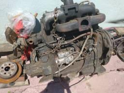 Motor mwm 229 e cambio 4 m