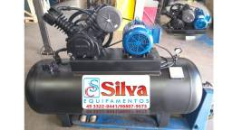 Compressor de ar 30 pés 350 litros Pressure - Revisado