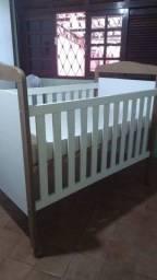 Título do anúncio: Berço cama + colchão Baby Prime