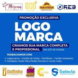 Criamos sua Logomarca - Logotipo Profissional