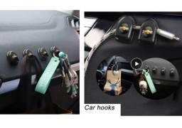 Título do anúncio: Gancho Para Carro Pequeno Com Adesivo Chevrolet Kit 4peças