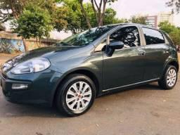 Fiat Punto Atrattive 14/15 Completo Cinza Metálico
