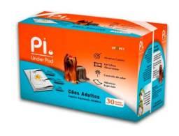 Tapete Higiênico Pi Cães Adultos 60x60 Pacote C/30 Tapetes