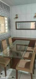 Mesa LINDA 6 Cadeiras+Buffet+Es