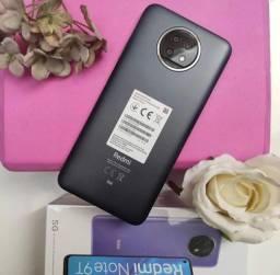Xioami tecnologia 5G - Redmi Note 9 T - Top de linha - 128 Gigas de memória interna