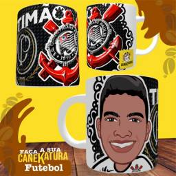 Caneca/caricatura do Corinthians