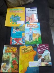 Livros paradidáticos por 10,00 cada