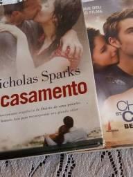Livros usados Nicholas sparks