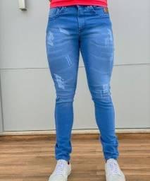 Título do anúncio: Jeans slin com lycra