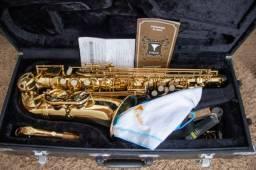 Sax Alto Eagle Sa501 + Boquilha Beechler - Completo - Novo!