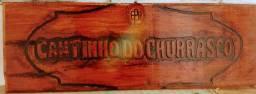 Entalhes em madeira comaru maciça 1,10 x 25 cm