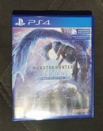 Título do anúncio: Monter hunter world iceborne master edition ps4