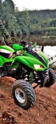 Título do anúncio: Quadriciclo Kawasaki kfx