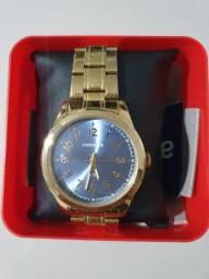 Título do anúncio: Relógio Dourado Feminino Mondane Original