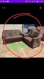 Conjunto de sofá 2 e 3