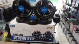 Ventilador Automotivo Duplo Carro Caminhao Kombi 24v