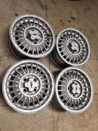 Rodas Originais aro 13 CheVette seminovas