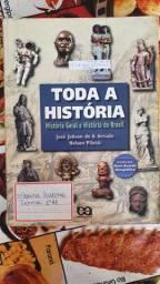 LIVRO TODA HISTÓRIA - HISTÓRIA GERAL E DO BRASIL