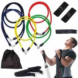 Kit completo treino fitness