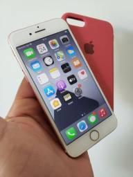 Iphone 7 128gb Rose Impecável Troco ou vendo
