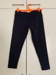 Calça De Ginástica/legging Preta P