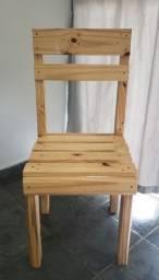 Título do anúncio: Conjunto 4 cadeiras de pallet