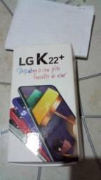 Vendo Lg K22 64gb tem nota fiscal carregador fone de ouvido