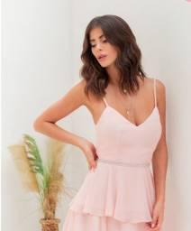 Vestido Midi Rose