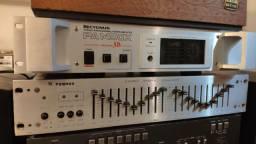 Amplificador Cygnus PA 1400 escovado