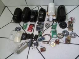 Peças de segurança eletronicas