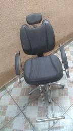 Cadeira reclinável para salão