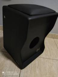 Cajón Eletroacústico Black - Witler Drums