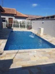 Casa em condomínio com 2 quartos e piscina em Itanhaém-SP | 7812-PC