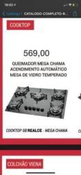 FOGÃO MEGA CHAMA
