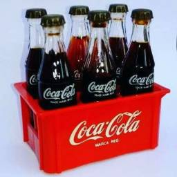Garrafas de Coca cola mini.