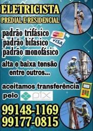 Título do anúncio: Eletricista eletricista Eletricista