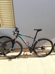 Bike aro 29 rockrider btwin pouco usada