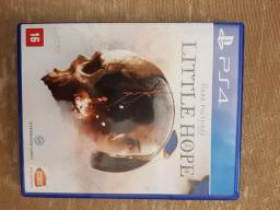 Jogo ps4 ps5 the dark picture little hope