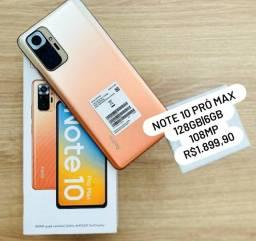 REDMI NOTE 10 PRO MAX 128GB PROMOÇÃO